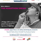 Bull Circle 1: The Marathon Dream on 19 September 2012